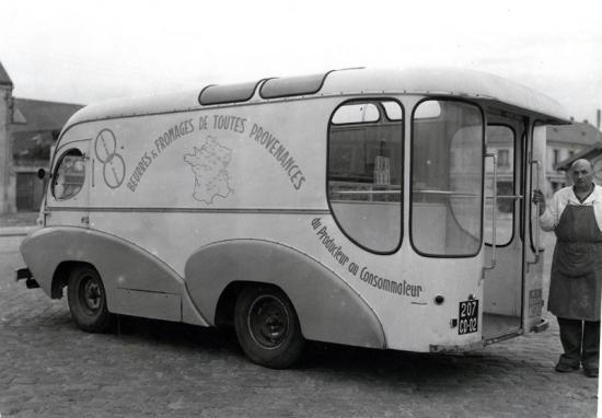 60 camionnette fromager soissons 1954