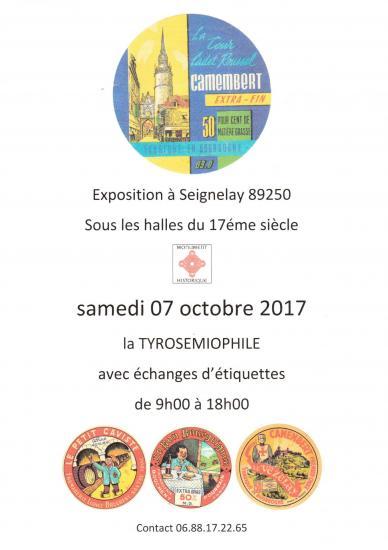 Affiche expo seignelay