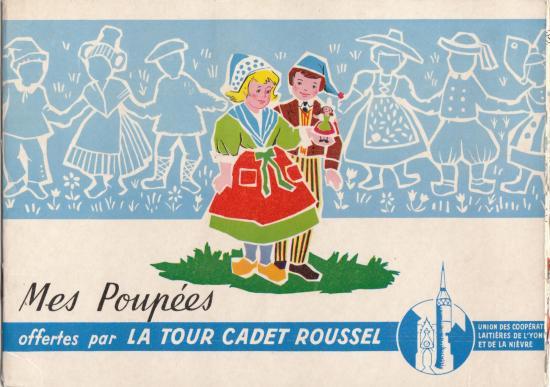 Album la tour cadet roussel mes poupees 1