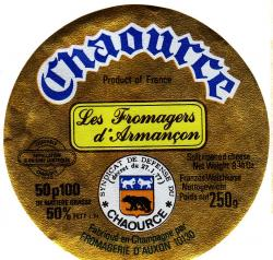 Ancienne etiquette fromagerie auxon chaource 4