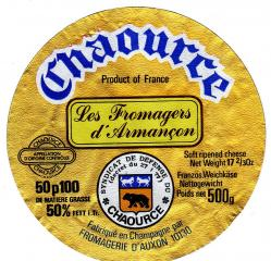 Ancienne etiquette fromagerie auxon chaource 5