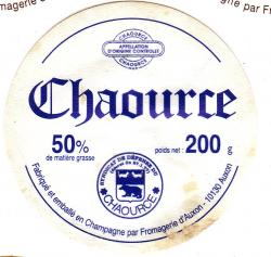 Ancienne etiquette fromagerie auxon chaource 8