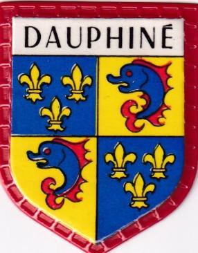 Blason des regions dauphine