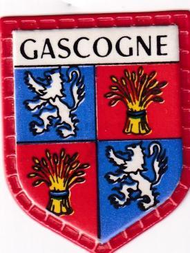 Blason des regions gascogne