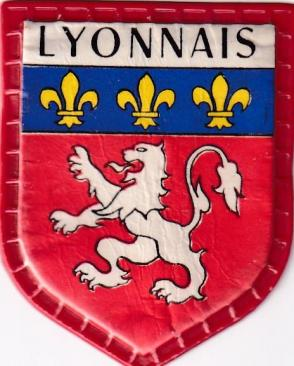 Blason des regions lyonnais