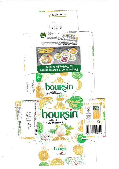 Boursin 12 2020