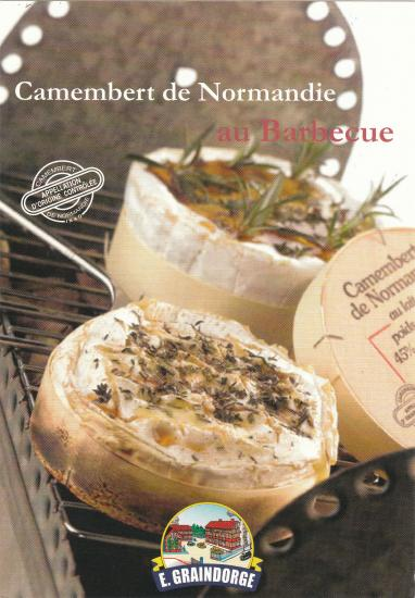 Camembert au barbecue 1