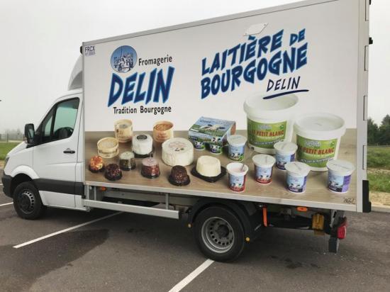 Camion delin