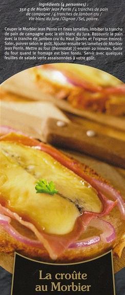 Croute au morbier