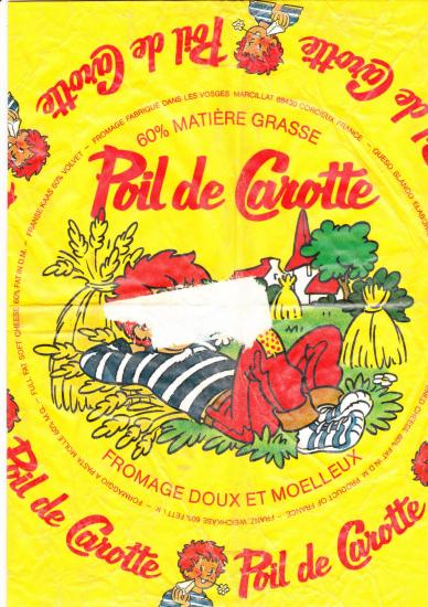 Etiquette poil de carotte 29