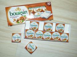 Factice boursin noisettes 3 noix