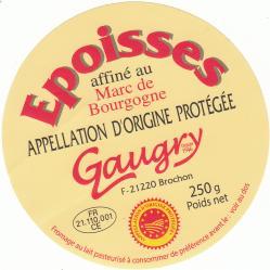 Gaugry 9 epoisses