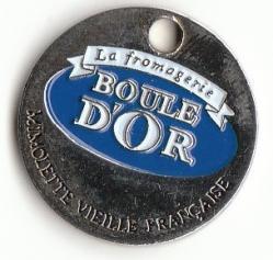 Jeton caddie boule d or mimolette 1