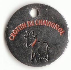 Jeton caddie crottin chavignol 1