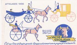 La vache grosjean attelages 1900