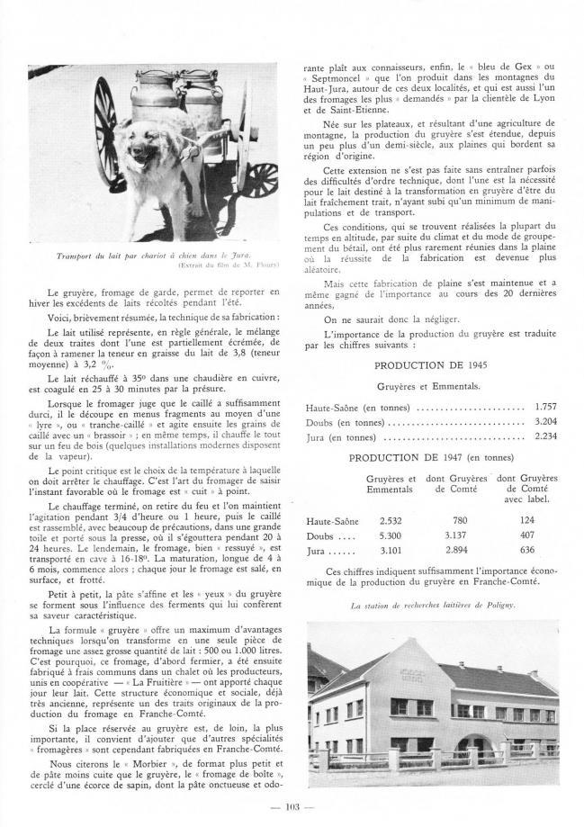 Le lait 1949 2