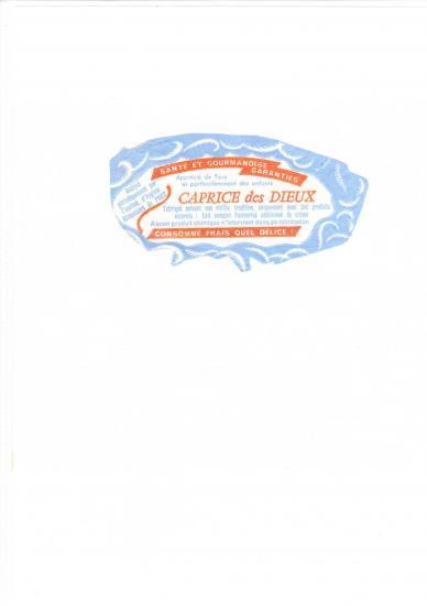Papier embalage caprice des dieux 1