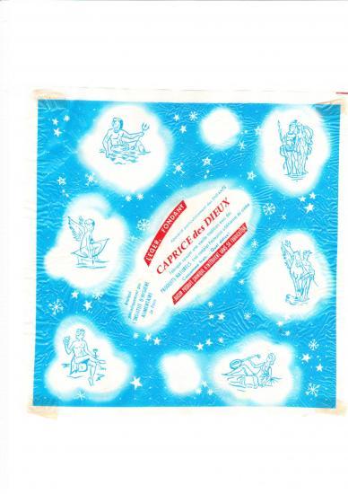 Papier embalage caprice des dieux 7