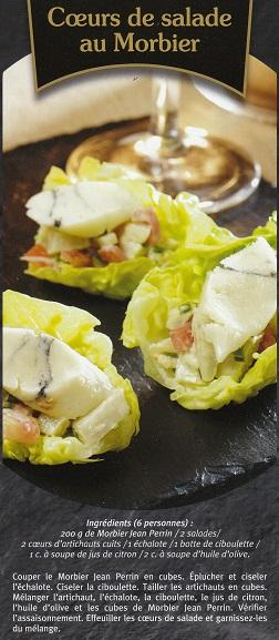 Salade au morbier